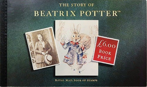 The Story of Beatrix potter-Royal Mail Book of Stamps(1993년)