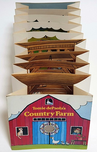 Tomie dePaola-Country Farm magic window series(1984년 초판본)