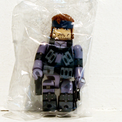 METAL GEAR SOLID 2-SOLID SNAKE