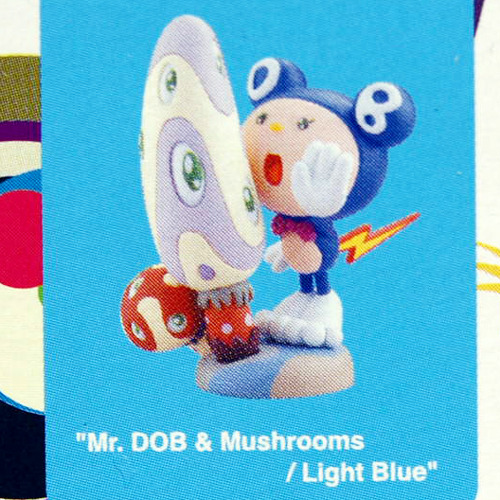 TAKASHI MURAKAMI'S SUPERFLAT MUSEUM(롯본기 힐즈)-Mr. DOB & Mushrooms / Light Blue