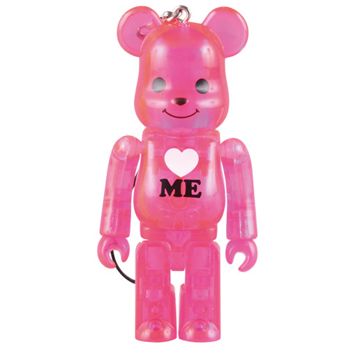 Be@rbrick 100% Love Me(pink)