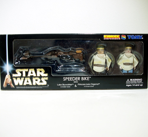 KUBRICK STAR WARS SPEEDER BIKE SET 개봉