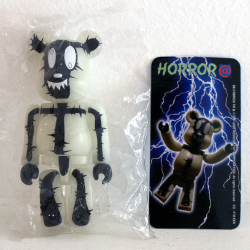 Be@rbrick Series4-HORROR(야광)