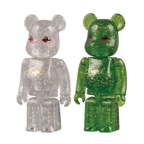 Be@rbrick 100% FOSSIL 2007 Christmas Campaign