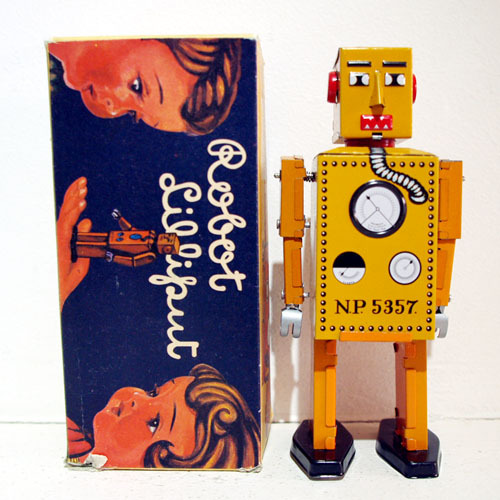 Liliput Robot-TIN TOM TOY(양철 로봇)