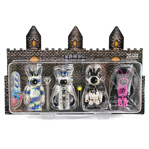 KUBRICK MAYHEM RABBIT SERIES 2 FOUR PC SET
