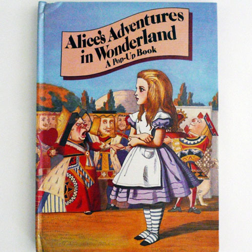 Alice Adventures In Wonderland Pop-up Book(1992년 8쇄본(1980년 초판))