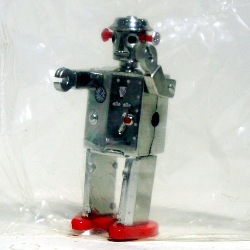 Atomic Robot(Metal Ver.)-미니 피규어