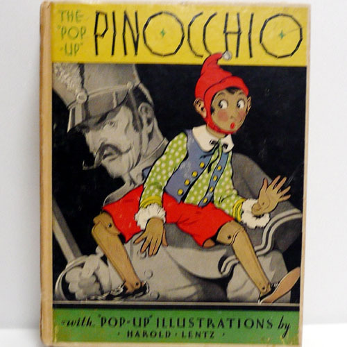 The Pop-Up of Pinocchio-Harold Lentz(1932년 초판본)