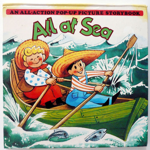 All At Sea-Pop-up-kubasta(1986년 복간본(1965년 초판))