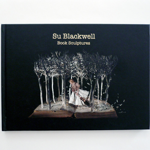 Su Blackwell-Book Sculptures
