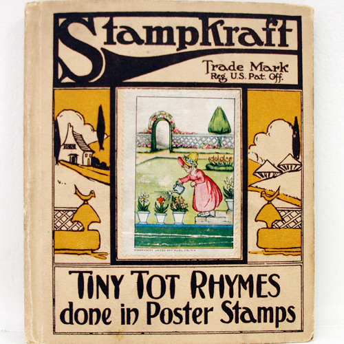 Stampkraft-TINY TOT RHYMES(1915년 초판본)