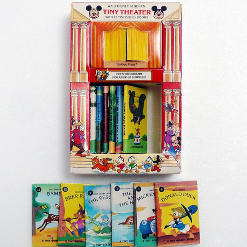 Tiny Theater 12 tiny Disney Books