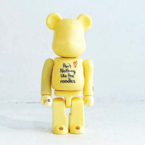 Be@rbrick 100% noodles yellow 2001 개봉